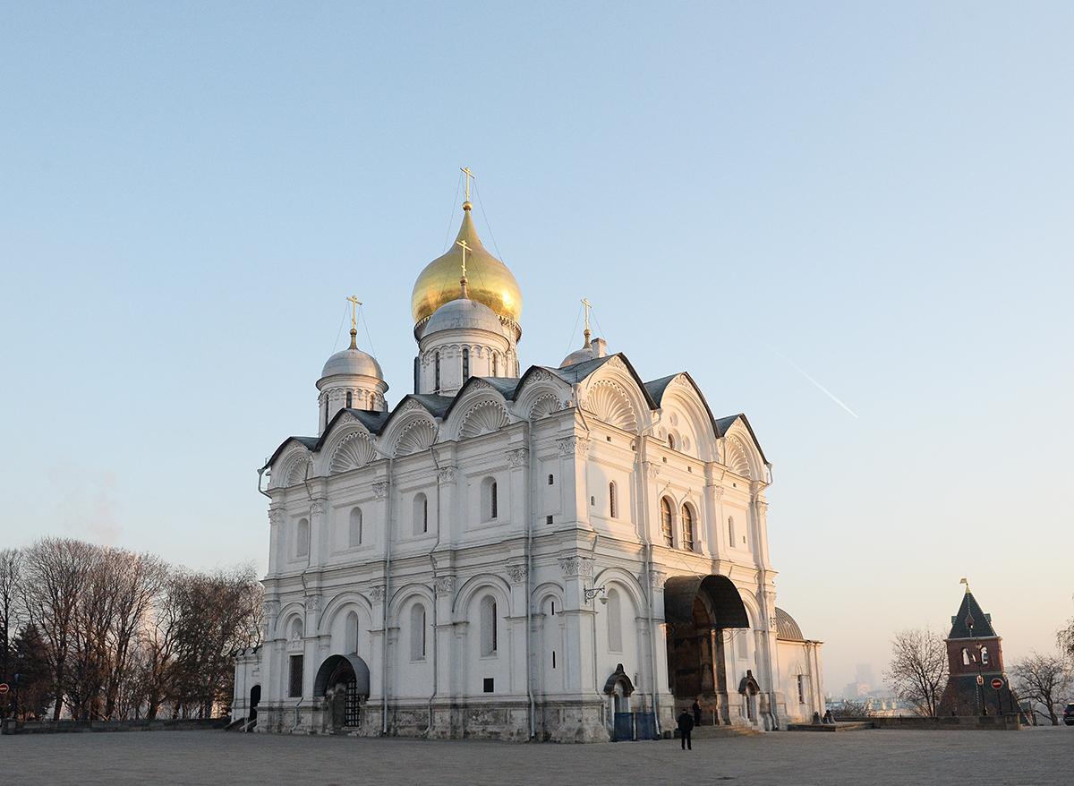 Тайны Архангельского собора