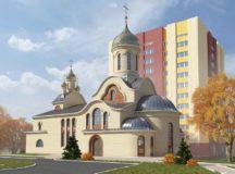 Разработан эскизный проект храма Почаевской иконы Божией Матери в Чертанове Южном